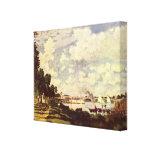 Pintura de Monet Impresiones En Lona Estiradas