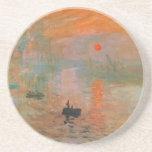 Pintura de Monet Posavasos Para Bebidas