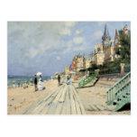 Pintura de Monet Postal
