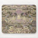 Pintura de mundos espirituales y materiales mouse pad