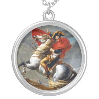 Pintura de Napoleon Bonaparte de Jacques-Louis Dav Colgante Redondo