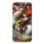 Pintura de Napoleon Bonaparte de Jacques-Louis Dav iPhone 5 Protectores