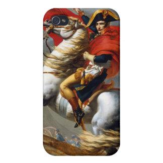 Pintura de Napoleon Bonaparte de Jacques-Louis iPhone 4/4S Carcasas