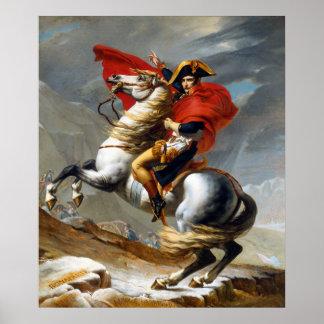 Pintura de Napoleon Bonaparte de Jacques-Louis Póster