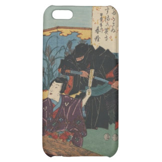 Pintura de Ninja circa Japón 1853