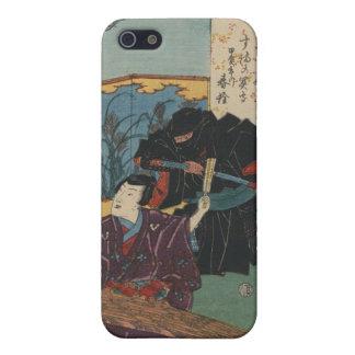 Pintura de Ninja circa Japón 1853 iPhone 5 Funda