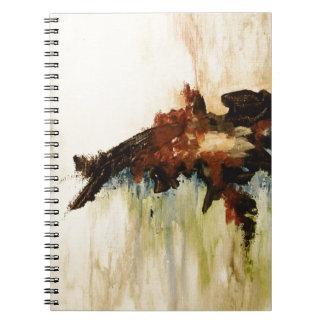 Pintura de paisaje del arte abstracto qué libro de apuntes