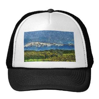Pintura de paisaje gorras
