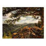 Pintura de paisaje rocosa del aceite del Mountain