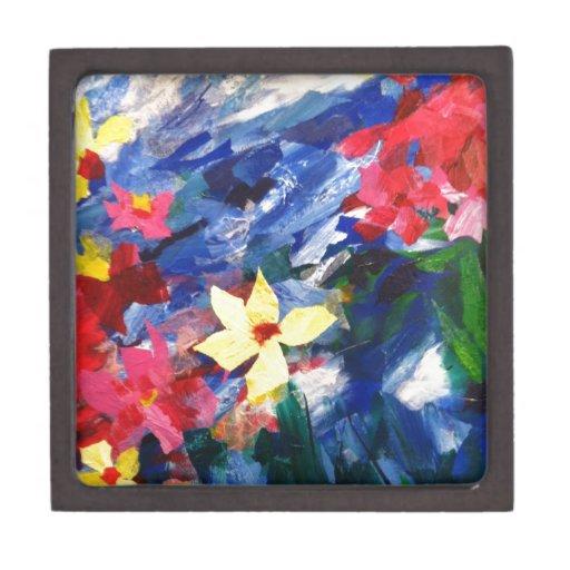 Pintura de papel del arte del collage de Arcylic Cajas De Joyas De Calidad