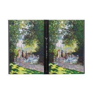 Pintura de Parc Monceau Claude Monet iPad Mini Funda