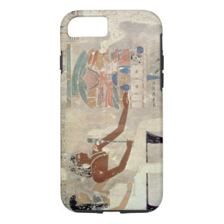 Pintura de pared de la tumba de Rekhmire, Thebes, Funda iPhone 7
