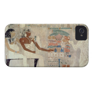 Pintura de pared de la tumba de Rekhmire, Thebes, Funda Para iPhone 4