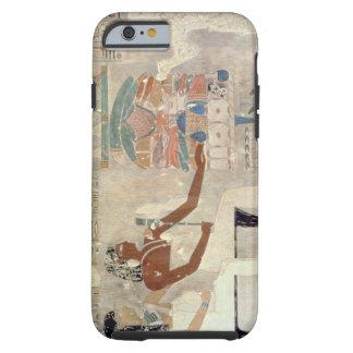 Pintura de pared de la tumba de Rekhmire, Thebes, Funda Resistente iPhone 6