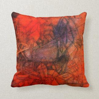 "Pintura de Paul Klee: ""Groynes. "" Cojín"