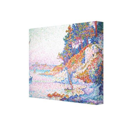 Pintura de Paul Signac Lona Estirada Galerias