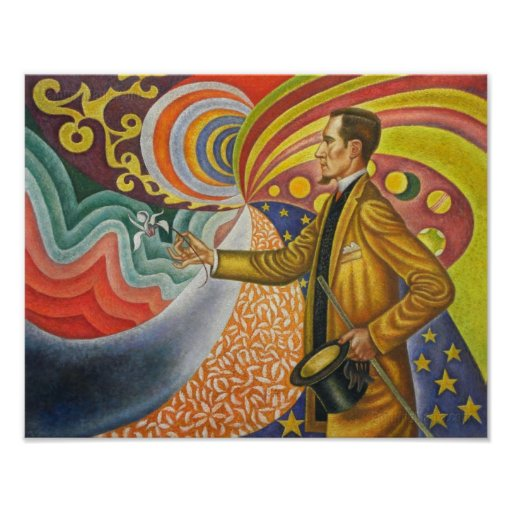 Pintura de Paul Signac Póster