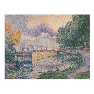 Pintura de Paul Signac Tarjetas Postales