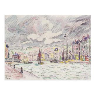 Pintura de Paul Signac Tarjeta Postal
