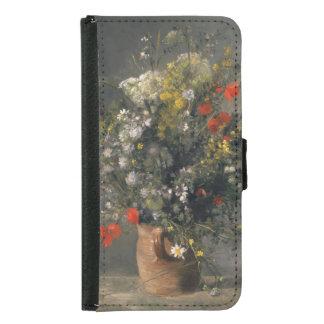 Pintura de Pedro Auguste Renoir, flores en un