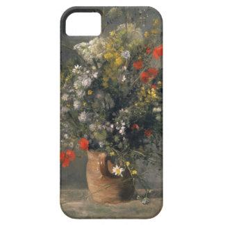 Pintura de Pedro Auguste Renoir, flores en un Funda Para iPhone SE/5/5s