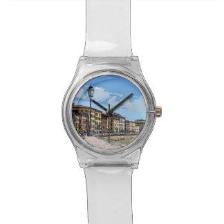 Pintura de Pisa, Italia Relojes