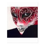 Pintura de plata de la máscara del instinto postal