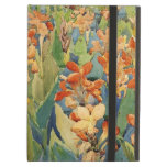 Pintura de Prendergast: Cama de flores