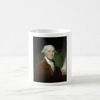 Pintura de presidente George Washington Taza