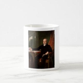 Pintura de presidente John Quincy Adams Tazas