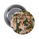 Pintura de Renoir Pin Redondo 5 Cm