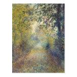 Pintura de Renoir Postal