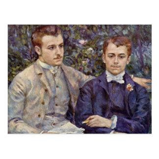 Pintura de Renoir Postales