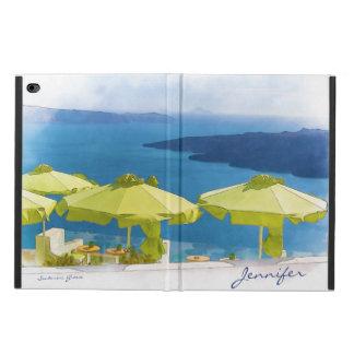 Pintura de Santorini Grecia