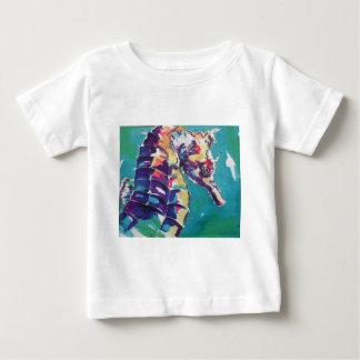 Pintura de seda del Seahorse brillante Camisas