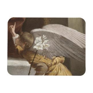 Pintura de señalar del ángel iman flexible