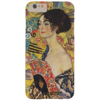 Pintura de señora With Fan Art Nouveau de Gustavo Funda Barely There iPhone 6 Plus