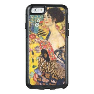 Pintura de señora With Fan Art Nouveau de Gustavo Funda Otterbox Para iPhone 6/6s
