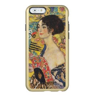 Pintura de señora With Fan Art Nouveau de Gustavo Funda Para iPhone 6 Plus Incipio Feather Shine