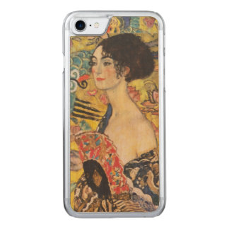 Pintura de señora With Fan Art Nouveau de Gustavo Funda Para iPhone 7