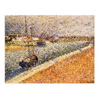 Pintura de Seurat Postales