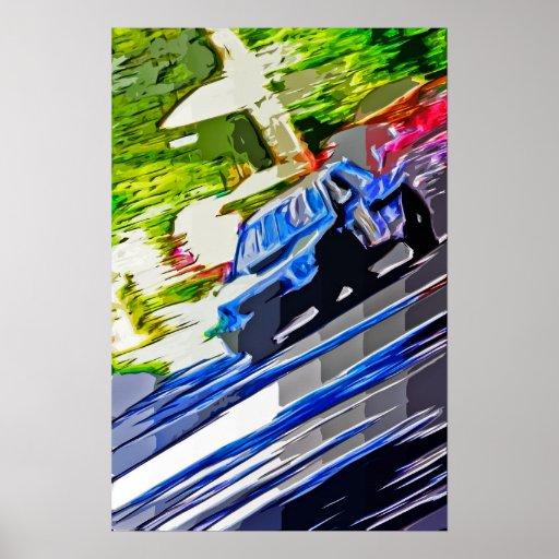 Pintura de Subaru WRX Posters