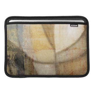 Pintura de tono texturizada áspera de la tierra funda  MacBook