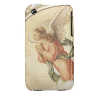 Pintura de un ángel que ruega Case-Mate iPhone 3 coberturas