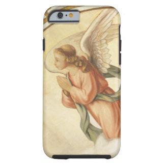 Pintura de un ángel que ruega funda de iPhone 6 tough