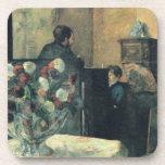 Pintura de un interior en la ruda Carcel - 1881 Posavaso