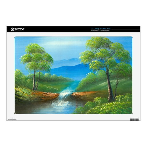 Pintura de una cala en el verano skins para 43,2cm portátil
