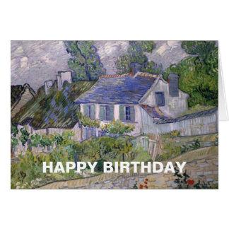Pintura de Van Gogh Tarjeta De Felicitación
