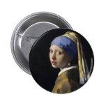 Pintura de Vermeer - chica con un pendiente de la  Pin