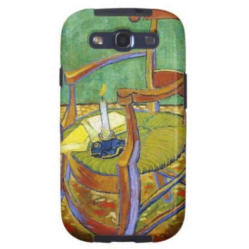 Pintura de Vincent van Gogh de la silla de Gauguin Samsung Galaxy S3 Protector